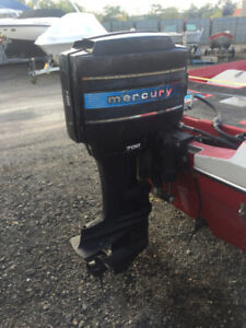 Good Running Condition 1978 Mercury 70HP Outboard Motor