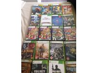 Xbox 360 bundle with Kinect and 22 games and Disney infinity figures