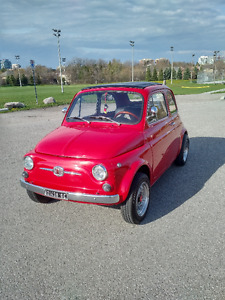 1971 Fiat 500 Convertible Abarth For Sale