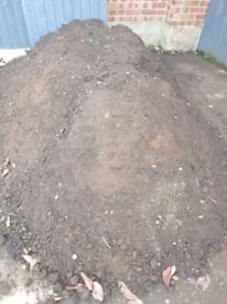 Free top soil free