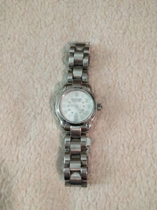 Victorinox Swiss Army Women's Dual Time/White Dial/ Sapphire Cry