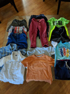 Boys summer clothes (mostly 2T)