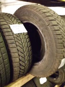 185/70R14 Goodyear Winter Tires – Installation Included