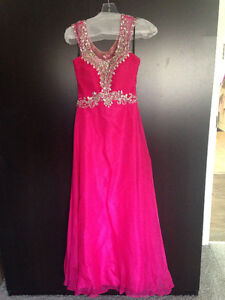 Fuchsia Prom Dress