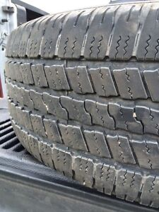 Set of 4 almost new 275/60r20