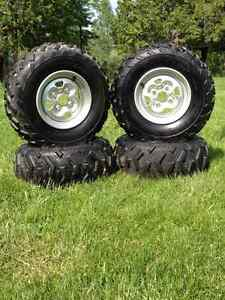 2008 grizzly 660 rims and tires
