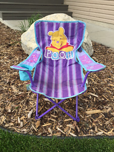 Kid's Chair - Winnie the Pooh Outdoor Camping Chair