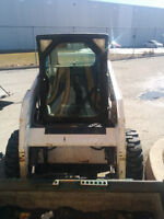 Bobcat rental Skid steer powerful S205 Heated. Bobcat Kostas!