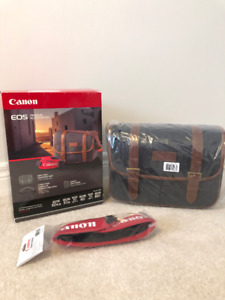 NEW Canon EOS Premium Gadget Bag & Camera Strap (sold together)