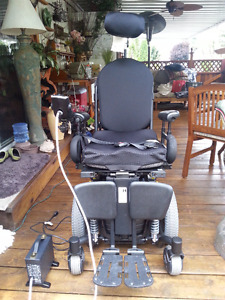 WHEELCHAIR, Power Tilt, Like New (Coquitlam)