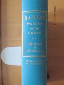 HALIFAX, WARDEN OF THE NORTH 1948 1ST EDITION SIGNED