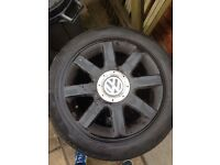 "Vw 5x112 16"" alloy wheels"