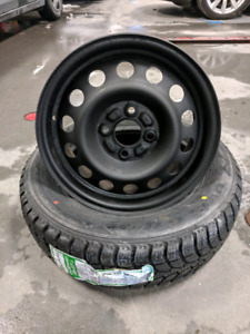 175/65R14 winter tires with rims yaris