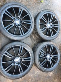 18 inch bmw mv3 alloy wheels msport 3 series trafic vivaro primastar