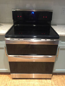 Kenmore Elite Glass top stove with double oven