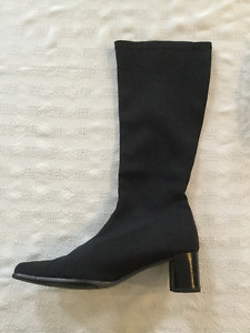 Bottes en tissus extensible Faites en Italie/Made in Italy