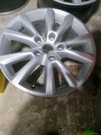 """VW 4x18"""" alloy wheels"""