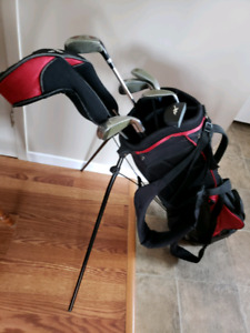 Lightly Used Left-Handed Golf Clubs