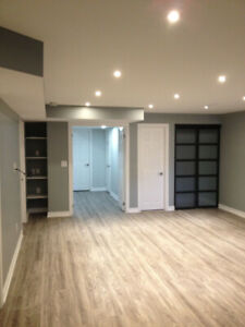 2 Bedroom Basement Appartment for rent in South Pickering!!
