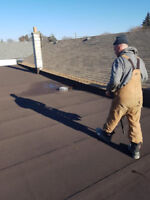 FLAT ROOFING • COMMERCIAL/RESIDENTIAL/INDUSTRIAL • FREE QUOTES