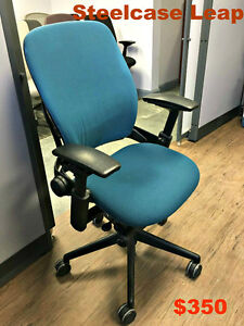 Ergonomic Office Chairs - Steelcase Leap - Leap V2-Open Saturday