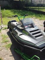 Need snowmobile moved