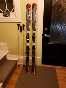 160 cm Skis, Bindings & Poles for Sale