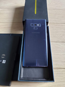 Samsung Galaxy Note 9, Blue, 6GB 128GB, N960F Dual Sim