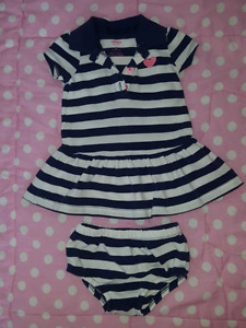 Summer outfits, dresses 3-6 months