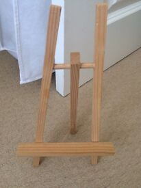 Small and large easel