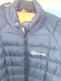 Berghaus hydrodown 600 jacket size small blue unisex
