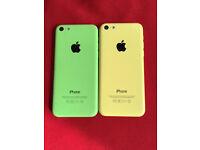 Apple iPhone 5c on EE/virgin/ orange and t-mobile