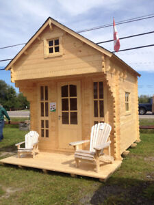 TINY TIMBER HOME, GARDEN SHED