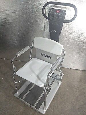 Welch Allyn Scale-tronix 6502 Physician Stand Sit Scale - Pick-up Deal Only