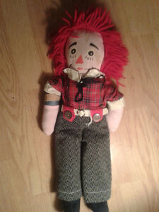 antique Raggedy Andy doll