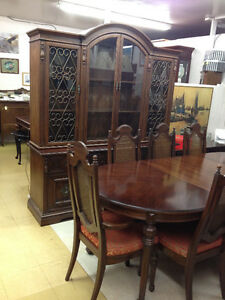 Rare Gibbard Walnut Dining Suite SOLD Kingston Kingston Area image 4