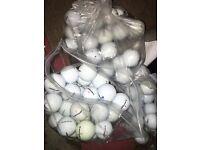 100 grade A golf balls mixed brands