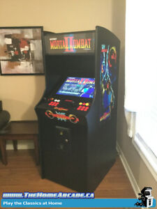 The Home Arcade Full Size Cabinet w/ over 9,880 games & Wty