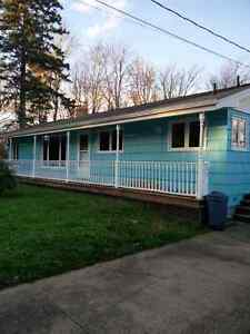 Fall River house for rent. Including snow plowing and yard maint