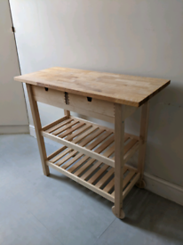IKEA FORHOJA Table Trolly Stand
