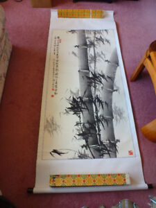 Chinese Wall Scroll Painting