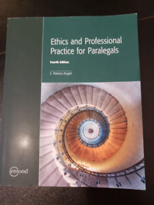 Ethics and Professional Practice for Paralegal (fourth edition)