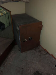 2 Heavy Steel Wall Safes (Tom, call back!)