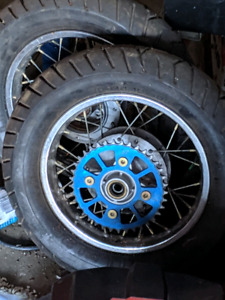Crf/xr50 supermoto rims and tires