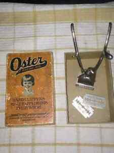 Vintage Hand Hair Clippers Peterborough Peterborough Area image 1