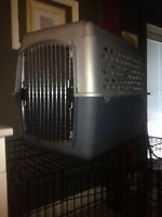 "32"" plastic kennel"