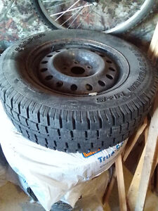 Winter tires Cooper Discoverer M+S 245 65 R17 with rims Kingston Kingston Area image 7