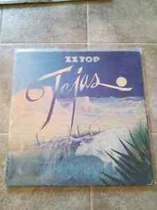 ZZ Top - Tejas 1976 record LP VINYL