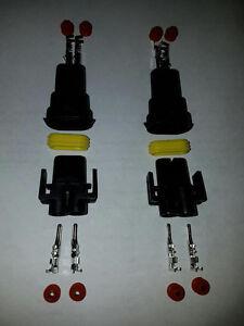 4xH8 H9 H11 880 881 2 x Male 2 x Female connector HID Plug socke