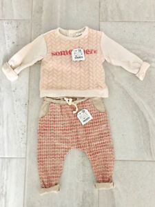 Beand new baby girl Zara Kids outfit 9-12 months